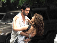 Movie Still From The Film Miley Naa Miley Hum,Chirag Paswan,Kangna Ranaut