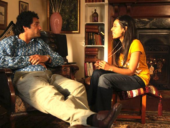 Movie Still From The Film Land Gold Women,Narinder Samra,Neelam Parmar