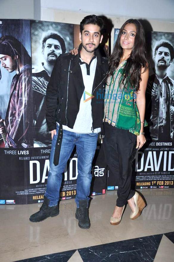 Premiere of 'David'