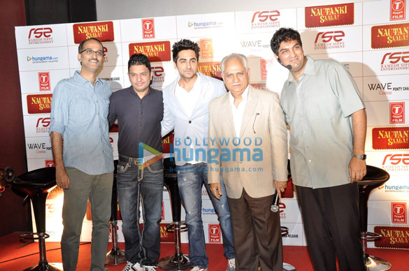 Trailer launch of 'Nautanki Saala!'