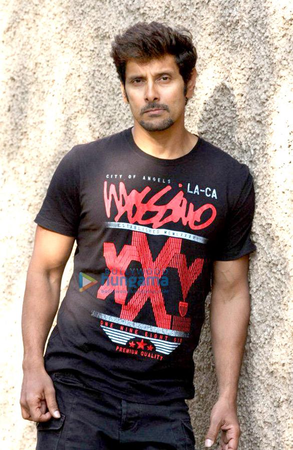 Chiyaan Vikram snapped in Mumbai