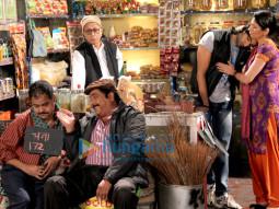 Sanjay Mishra,Zakir Hussain,Vishwa Mohan Badola,Ranjan Chabbra,Pragati Pandey