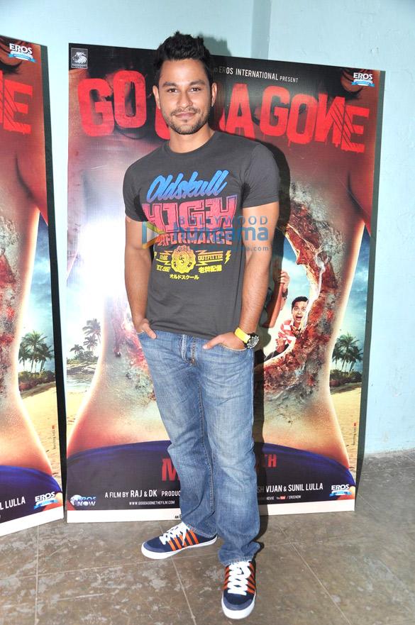 Kunal, Vir Das & Pooja promote 'Go Goa Gone'