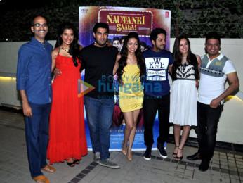 Rohan Sippy, Gaelyn Mendonca, Kunaal Roy Kapur, Pooja Salvi, Ayushmann Khurrana, Evelyn Sharma, Bhushan Kumar