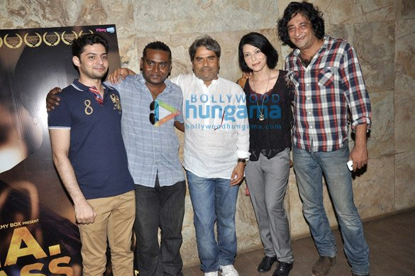 Vishal Bhardwaj at special screening of 'B.A. Pass'