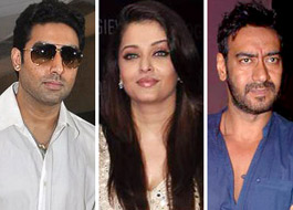 Abhishek, Ash, Ajay visited Sanjay Dutt last evening