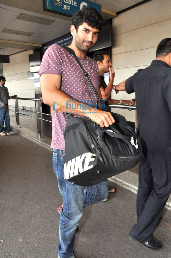 Ranbir & Aditya leave for Dubai to promote 'Yeh Jawaani Hai Deewani'
