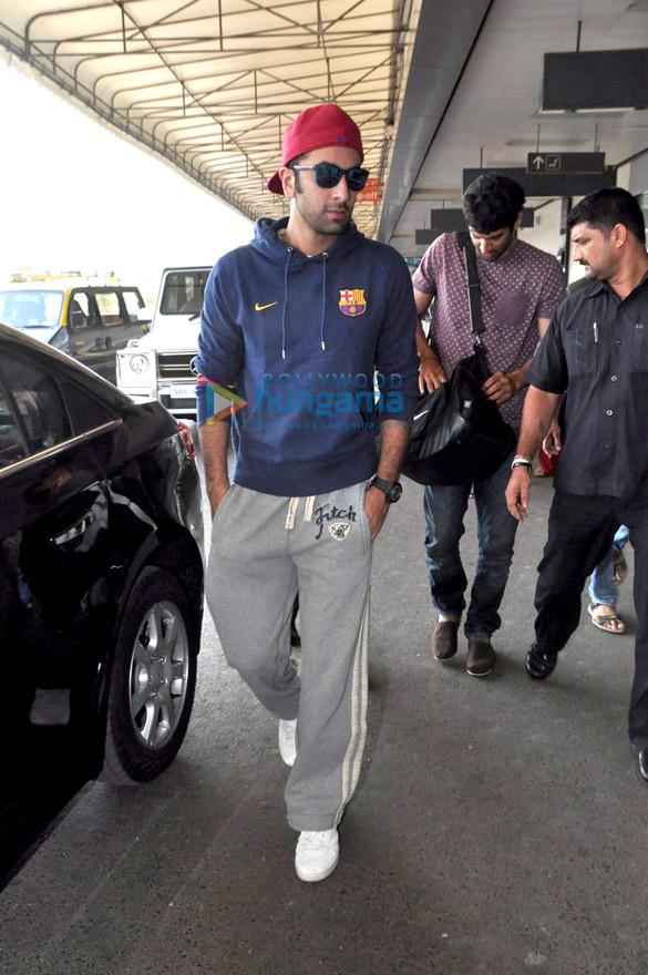 Ranbir & Aditya leave for Dubai to promote 'Yeh Jawaani Hai Deewani'