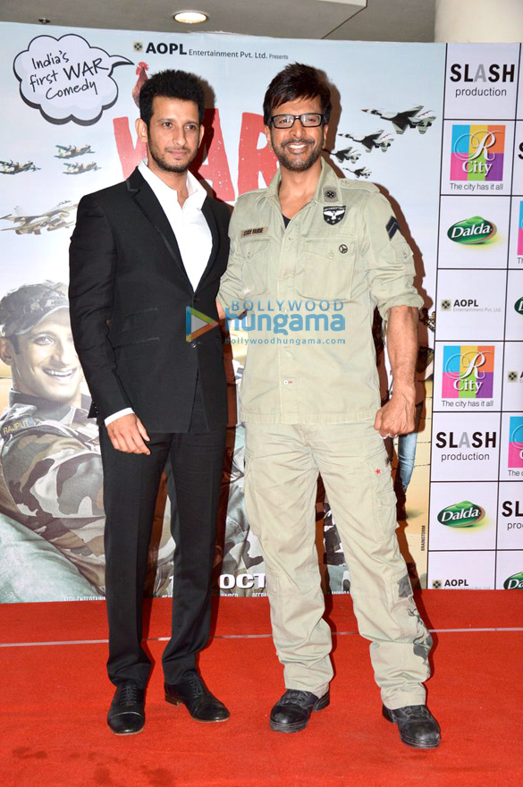 Sharman & Jaaved promote 'War Chhod Na Yaar' at Rcity Mall