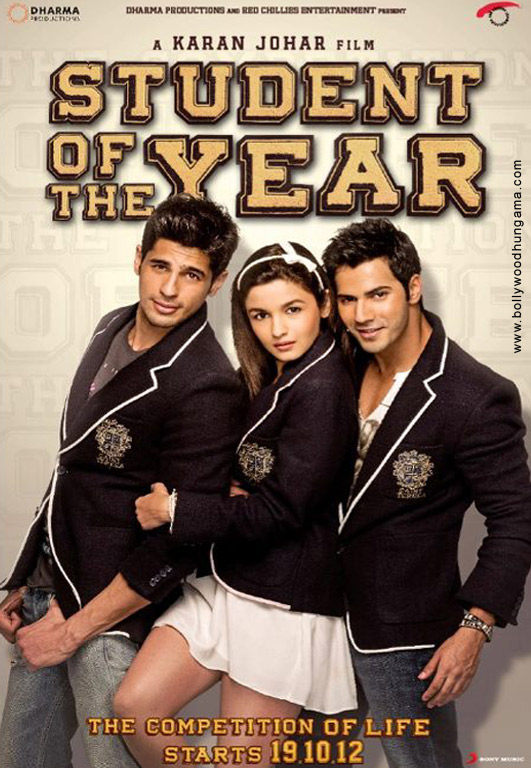 Student Of The Year Cover