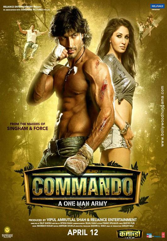 Commando - A One Man Army Cover