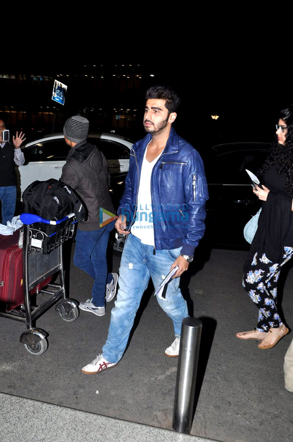 Cast of 'Gunday' leave for Dubai promotions