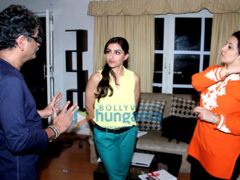 Sunil khosla, Soha Ali Khan, Vibha Dutta Khosla