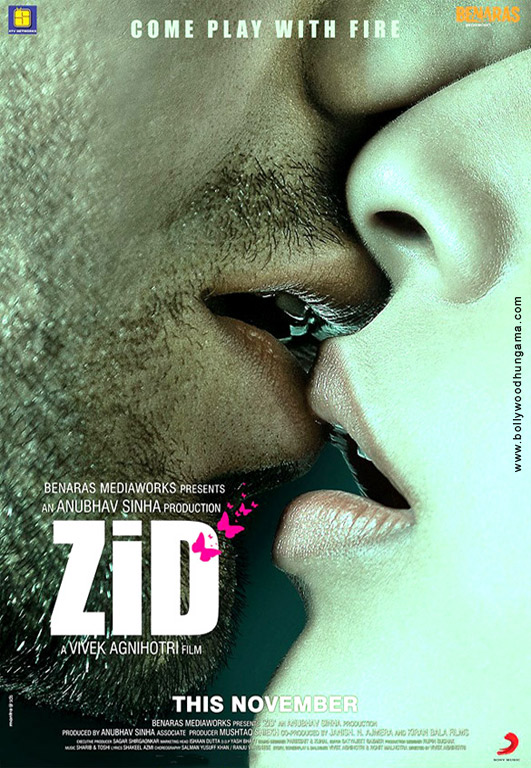 Zid (2014) Hindi Movie 400MB HDRip 480p ESubs Download