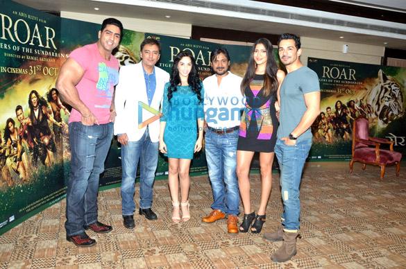 Media meet of 'Roar – Tigers of Sunderbans'