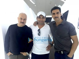 Anupam Kher, Neeraj Pandey, Akshay Kumar