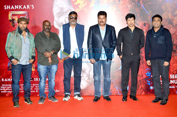Chiyaan Vikram & A R Rahman unveil the first look of 'I' to media