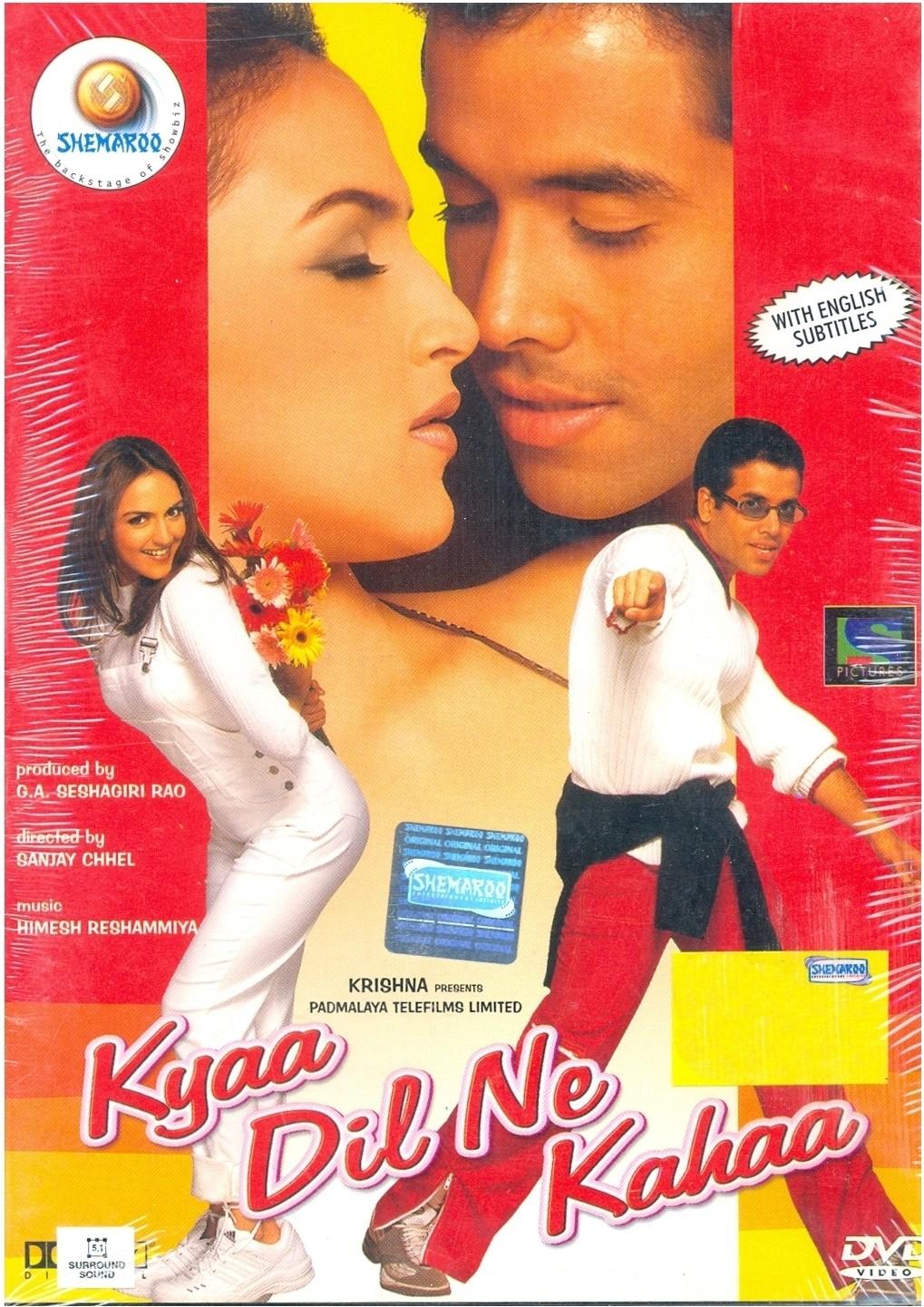 Kyaa Dil Ne Kahaa (2002) Hindi 720p WEB-DL 1.2GB | 400MB Download