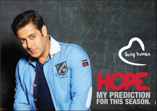 Check out: Salman's latest Being Human campaign