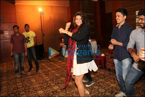 Meet N Greet with Jacqueline Fernandez and Arjun Rampal