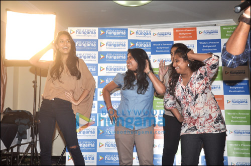 Meet N Greet with 'The Shaukeens' actress Lisa Haydon