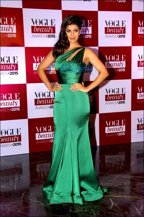 Style Check: Vogue Beauty Awards 2015