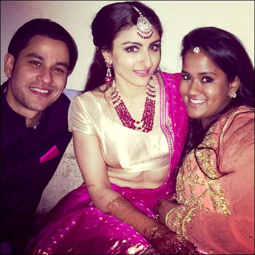 Check out: Unseen pictures of Soha Ali Khan and Kunal Khemu's wedding