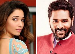 Tamannaah Bhatia paired opposite Prabhu Dheva in upcoming trilingual film