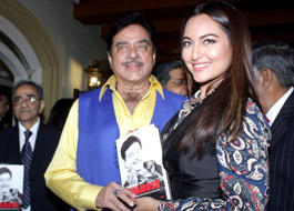 Sonakshi Sinha is 'scared' to read her father's biography