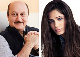 Anupam Kher to star with Freida Pinto in film on sex trafficking