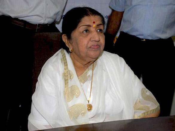 Lata Mangeshkar graces Saregama album launch