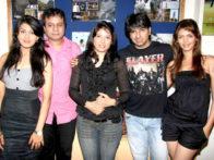 Photo Of Ashhmita,Jiten Purohit,Asheema,Deep,Zeenal Kamdar From The Zeenal Kamdar glam photo shoot for film 'Diwangi Ne Had Kar Di'