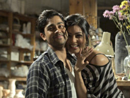 Movie Still From The Film Walkaway,Manish Dayal,Pallavi Sharda