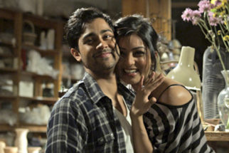 Movie Still From The Film Walkaway,Manish Dayal,Pallavi Sharda