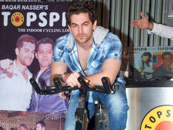 Neil launches Baqar Nasser's 'Top Spin' fitness studio