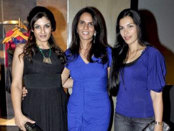 Photo Of Raveena Tandon,Anita Dongre,Namrata Barua From The Urmila, Gul Panag and Raveena grace Anita Dongre's store launch