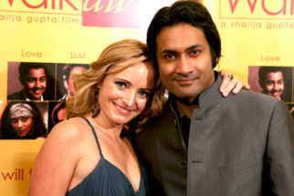 Photo Of Carrie Anne James,Samrat Chakrabarti From The Premiere of 'Walkaway'