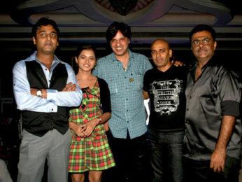 Photo Of Ayub Khan,Ekta Tiwari,Rahul Roy,Bobby Khan,Iqbal Attarwala From The Indian Supermodel Final