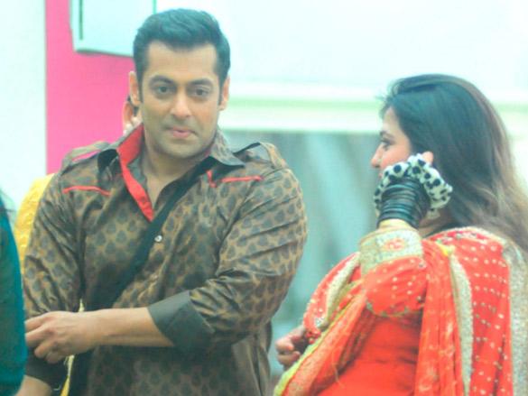 Salman's entry into the Bigg Boss house