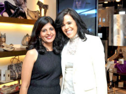 Photo Of Nalini,Carmela Acampora From The Chitrangda Singh graces Burberry store launch in Delhi