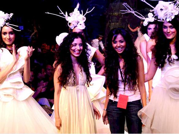 Gauri Nainika's showcase at 'Lakme Fashion Week 2011' Grand Finale