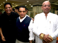 Photo Of C.G. Patel,Firoz Nadiadwala,Balagiri From The Celebs at C.G Patel's grand daughter's birthday bash