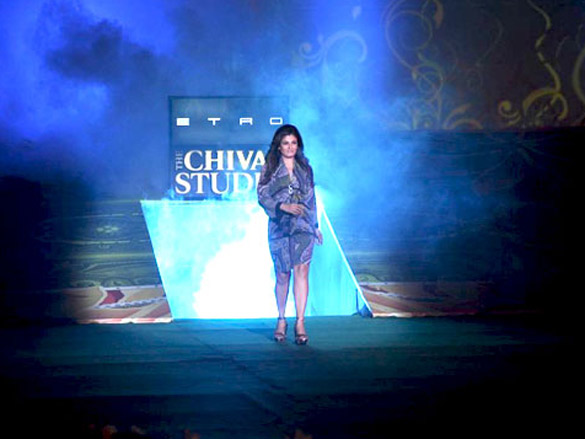 Raveena and Randeep walk for Etro on Chivas Studio Day 1