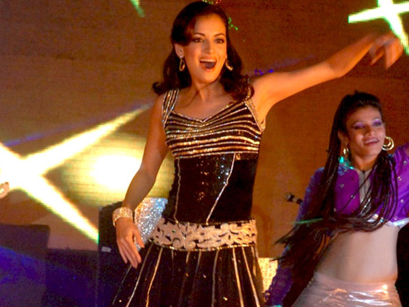 Dia Mirza performs live at Vemma health product launch