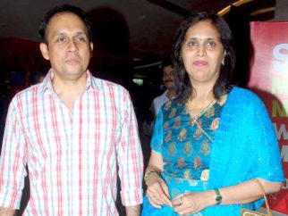 Photo Of Tushar Dalvi From The Sonali Kulkarni at Marathi film 'Taryanche Bait' premiere