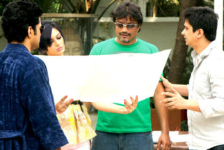 On The Sets Of The Film Soundtrack Featuring Rajeev Khandelwal,Soha Ali Khan,Mrinalini Sharma,Mohan Kapoor,Yatin Karyekar,Ankur Tewari,Anurag Kashyap,Siddharath Coutto
