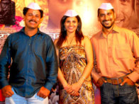 Photo Of Ajit Bhairavkar,Sukhada Yash,Chinmay Mandlekar From The Uddhav and cast grace music launch of 'Gajaar - Journey of the soul'
