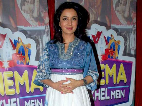 Tisca Chopra at Zee Cinema's 'Khel Khel Mein' promotional event