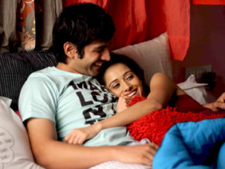 Movie Still From The Film Pyaar Ka Punchnama,Kartikeya Tiwari,Nushrat Bharucha