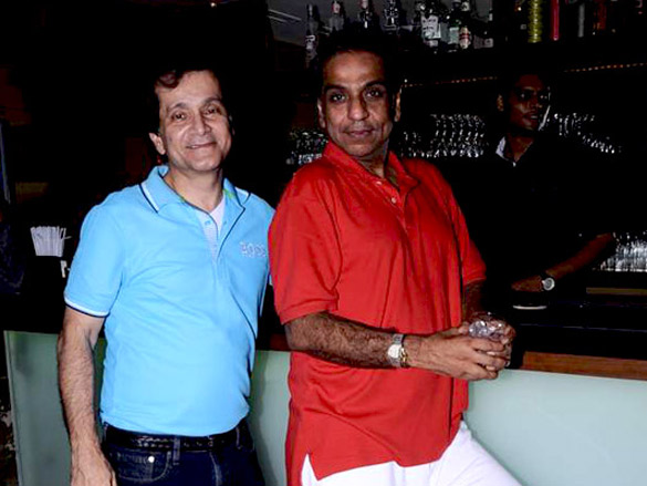 Sameer Seth's guy's night out